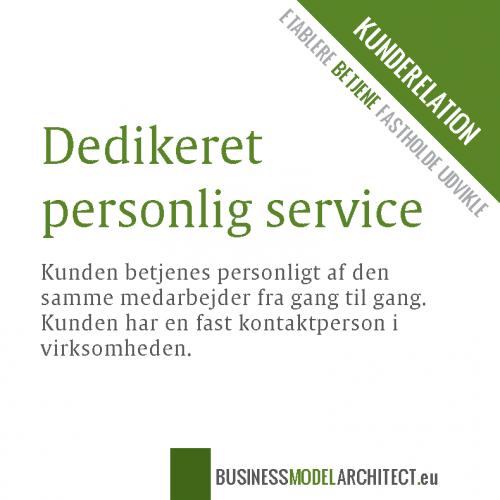 6B-dedikeret personlig service