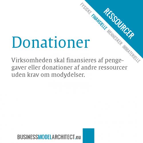8B -donationer