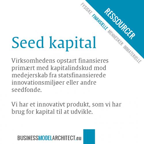 8B -seed-kapital